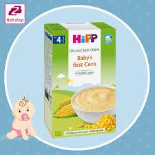 Bột ăn dặm Hipp ngô non không sữa – cho bé 4 tháng +