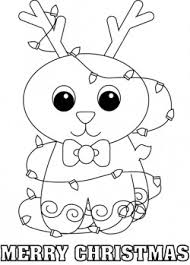 Small Picture Rudolph Color Page Christmas Coloring Pages Free Printable
