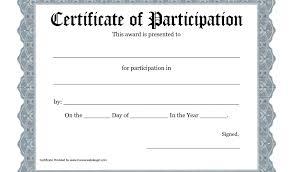 Printable Gift Certificates Online Free Free Printable Award