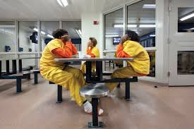 pbs photo essay life inside a juvenile detention center for girls three girls at a juvenile facility in racine wisconsin roughly 30 percent of incarcerated youth in the united states are female