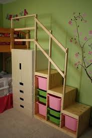 bunk bed with stairs. Easy Full Height Bunk Bed Stairs - IKEA Hackers With T