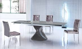 Expandable Glass Dining Room Tables Interior New Decorating Design
