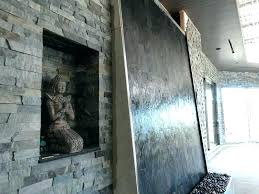indoor wall fountains fountain stunning waterfall with