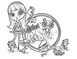 My Alternate Blog Littlest Pet Shop Coloring Pages Birthday