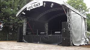 concert stage hire