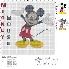 Cross Stitching Patterns New Disney Free Cross Stitch Patterns By Alex