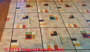 linoleum sheet flooring ca 1935 c inspectapedia e p