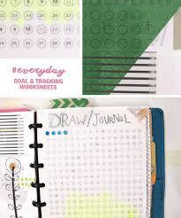 Goals And Daily Habit Tracking 5 5 By 8 5 Amanda Hawkins Ahhh