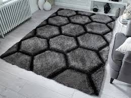 acrylic polyester mixed pile rugs