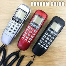 wall mount corded phone telephones home