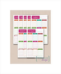 Student Daily Planner 6 Student Daily Planner Templates Free Sample Example Format