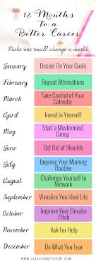 a simple one year plan to improve your career classy career girl a one year plan to improve your career