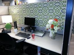 office cubicle wallpaper. Add Fresh Flowers And Use Wallpaper Of Wrapping Paper As The Backdrop Office Cubicle W