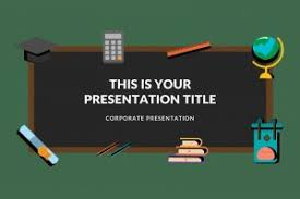Blackboard Background Powerpoint 25 Free Education Powerpoint Templates For Teachers And Students