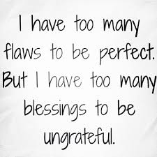 Blessed Life Quotes Extraordinary Flawed But Blessed Allegro Today