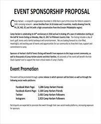 13 Sample Sponsorship Proposal Template Cover Letter