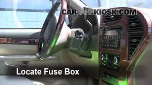 interior fuse box location buick rendezvous  interior fuse box location 2002 2007 buick rendezvous