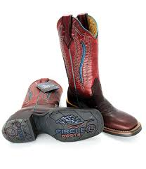 circel l western strike australian designed leather boots with rubber soles