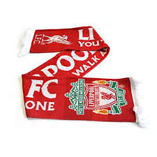 liverpool f c you ll never walk alone official scarf