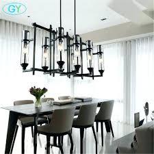modern dining light modern dining light industrial art vintage glass candle chandelier lamp re modern dining