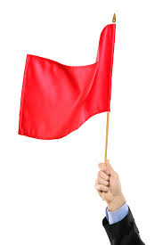 warnings signs that you shouldn t join a dental office the hand waving a red flag