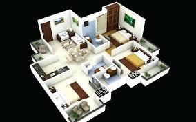 3 Bedroom Home Design Plans New Inspiration Design