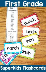 1st Grade Flash Cards First Grade Flash Cards Word List Back To School K 1st Hands