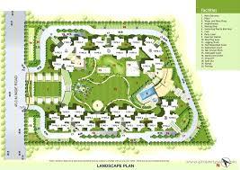 apartment landscape design. Interesting Design Apartment Landscape Plan A Location Map  Designs Inside Design E