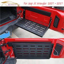 jeep wrangler 4 door interior. wisengear rear interior door cargo shelf storage luggage holder tail carrier table for jeep wrangler 4
