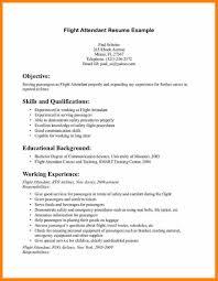 Flight Attendant Resume Sample Flight Attendant Resignation Letterflight Attendant Resume Sample 20