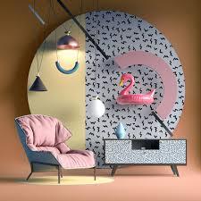 memphis group furniture. Memphis Style Furniture Nastia Ibragimova Group