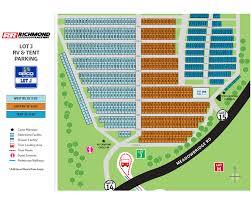 Rir Seating Chart Maps Richmond Raceway
