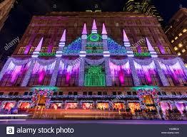 Saks Fifth Avenue Light Show 2016 Schedule New York Saks Christmas Stock Photos New York Saks