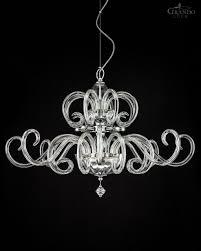 sg chrome modern crystal chandelier with crystal swarovski