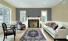 grey accent wall living room accent