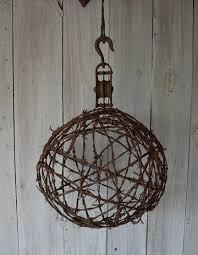 barbed wire ball by nottooshabbyshelves via