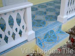 Decorative Cement Tiles Cement Tile Outdoor Installations Villa Lagoon Tile 78