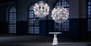 suspended and presented within the iconic setting of the brera academy of fine arts french crystal company maison baccarat has unveiled their latest