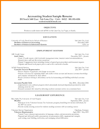 11 Objective For Accounting Resume Informal Letters