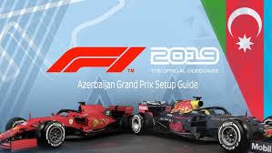 Azerbaijan grand prix live stream: F1 2019 Game Azerbaijan Grand Prix Setup Guide