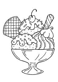 25 yummy ice cream coloring pages your toddler will love más