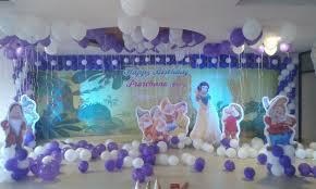 Princess Balloon Decoration Snow White Theme Balloon Decoration Bangalore Hiibangalorecom