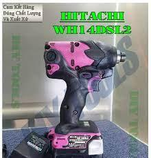 Máy Vặn Vít Nội Địa Nhật Hitachi WH14DSL2 14.4v 3AH, Nội Thất Như Mới, Ngoại