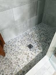 how to tile a shower floor mosaic tile shower floor ideas