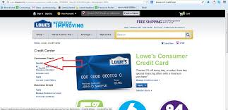 Lowes Commercial Credit Card Application Pay Your Www Lowes Com Credit Bills Online Your Bill Payment 3