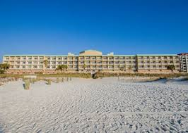 hton inn pensacola beach hotel fl hotel from beach