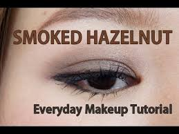 smoked hazelnut everyday natural smokey eye makeup tutorial