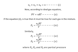 total pressure equation. dalton\u0027s law of partial pressure total equation