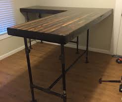 Full Size of Home Desk:photo Home Desk Excellent Build Standing Image Ideas  Wood Desktop ...