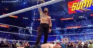 WWE's Roman Reigns Defeats John Cena in ...